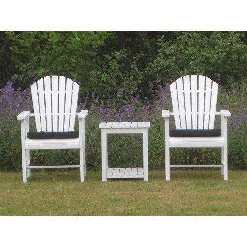 Luxus tuinstoel wit voor adirondack roma for Witte tuinstoel