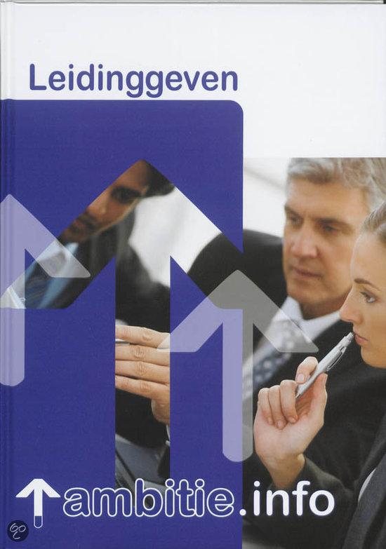 Leidinggeven / MBO Detailhandel / deel Leerlingenboek