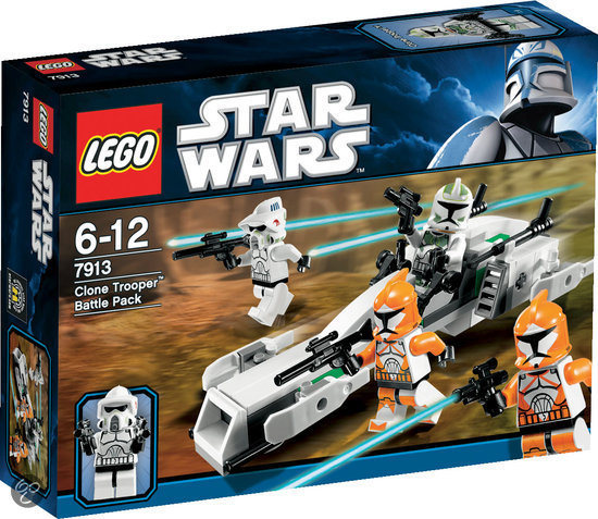 LEGO Star Wars Clone Trooper Battle Pack - 7913 in Goldhoorn