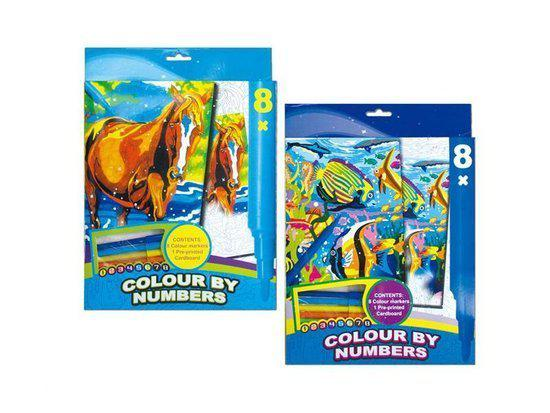 Colour By Numbers Kleurboek