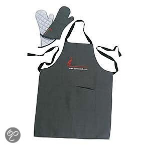 Barbecook Set Schort + Paar Handschoenen - 40cm