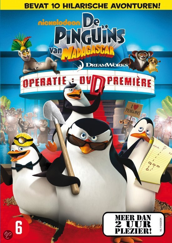 De Pinguns Van Madagascar - Operatie: Dvd Premire