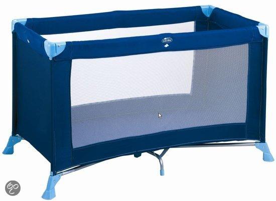 Babidéal Kompak - Campingbedje 120 x 60 - Love Blue