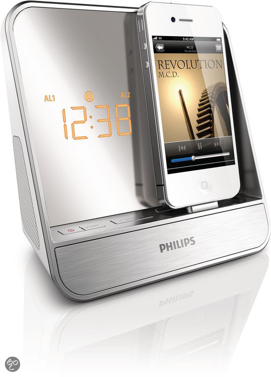 Philips AJ5300D Met apps Klokradio voor iPod/iPhone