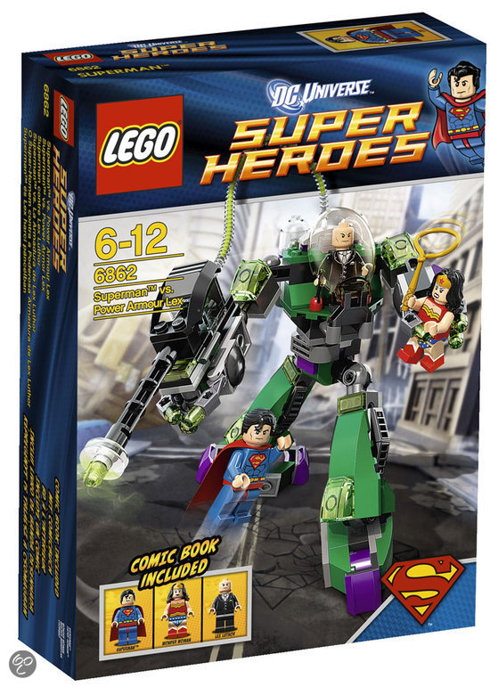 LEGO Superman Vs Power Armo - 6862
