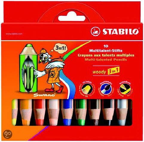 Stabilo Woody 3 In 1