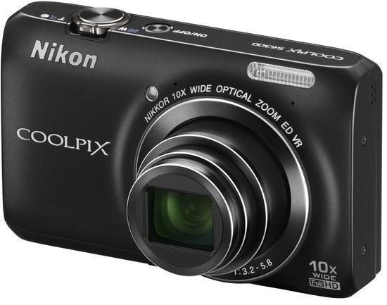 Nikon Coolpix S6300 - Zwart