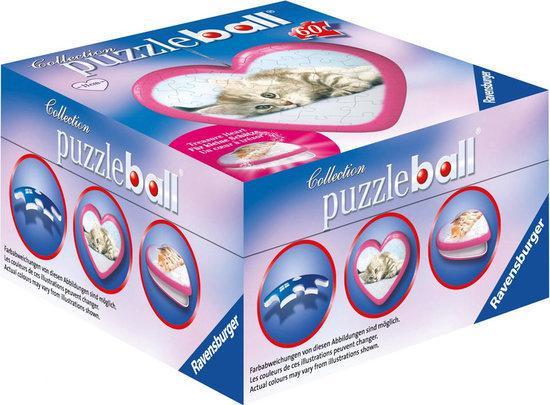 Ravensburger - Hartvormige puzzleball Dieren