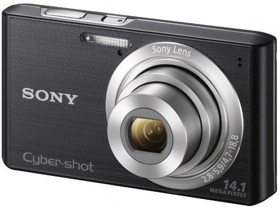 Sony Cybershot DSC-W610 - Zwart