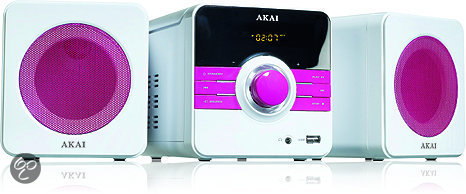 Akai AMD02PK - Microset - Roze