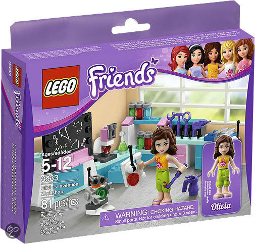 LEGO Friends Olivia's Laboratorium - 3933
