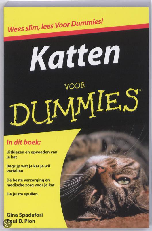 Voor Dummies Katten