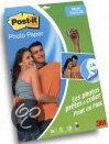 Post-It Fotopapier Sticky 10x15cm (20 vel + 5 gratis) halfglanzend