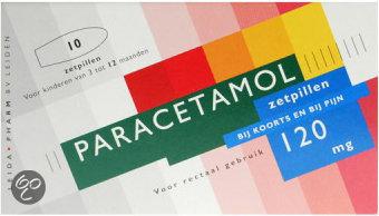 Leidapharm Paracetamol - 120 mg - 10 Zetpillen