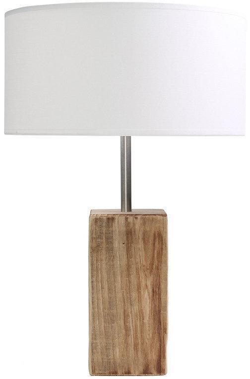 Mosso tafellamp stockholm tafel lamp s wit hout wonen - Tafel eetkamer hout wit ...