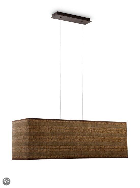 bol.com  Philips Myliving Stanton - Hanglamp - 3-Lichts - Bruin ...