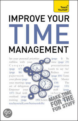 Teach Yourself Improve Your Time Management