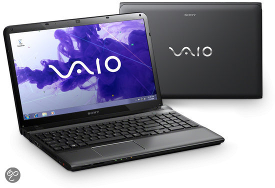 Sony Vaio SVE1511J1EB Laptop - Intel i3-2370M 2.4 GHz / 4GB DDR3 RAM / 640GB HDD / AMD HD 7650M / 15.5 inch / QWERTY