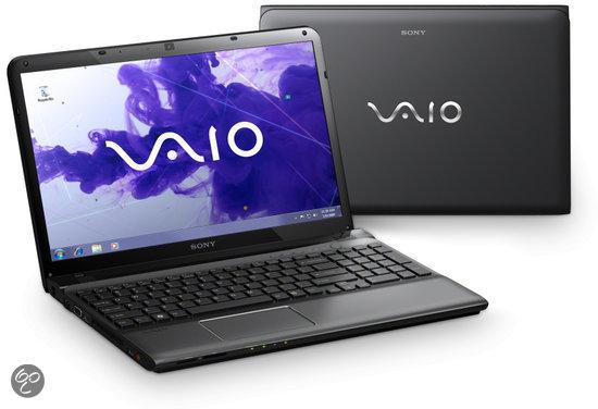 Sony Vaio SVE1511J1EB Laptop - Intel i3-2370M 2.4 GHz / 4GB DDR3 RAM / 640GB HDD / AMD HD 7650M / 15.5 inch / QWERTY
