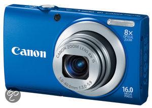 Canon PowerShot A4000 - Blauw