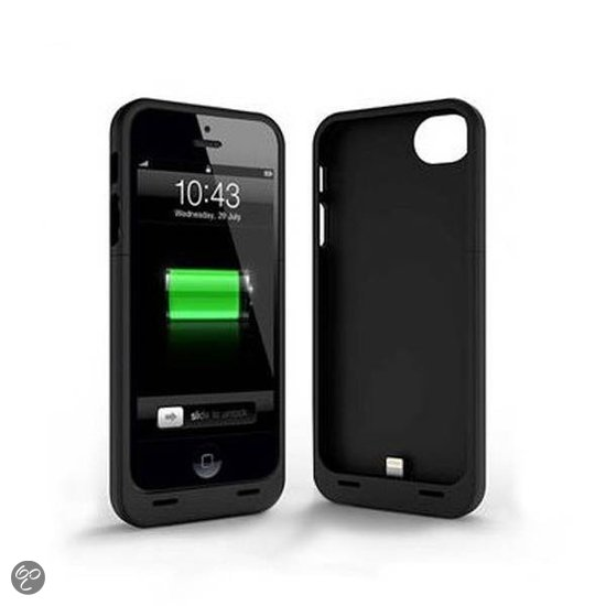 bol.com : Externe batterij iPhone 5 / 5S powerbank (Zwart ...