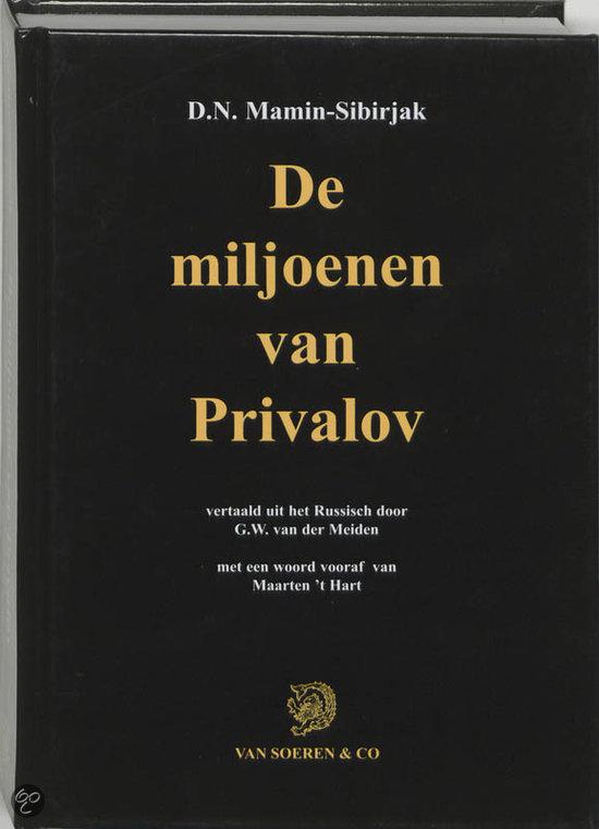 De Miljoenen Van Privalov  ISBN:  9789068811292  –