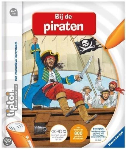 Ravensburger Tiptoi - Boek bij de Piraten