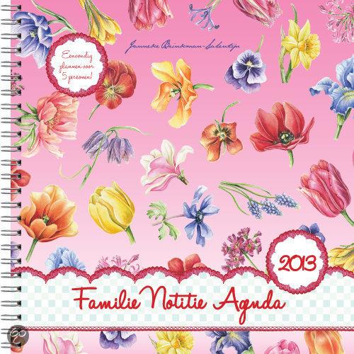 Familie Notitie Agenda Janneke Brinkman / 2013