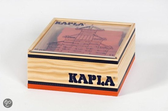 Kapla Box 40 Orange