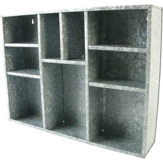Hd collection letterbak metaal zink - Kleur grijs zink ...
