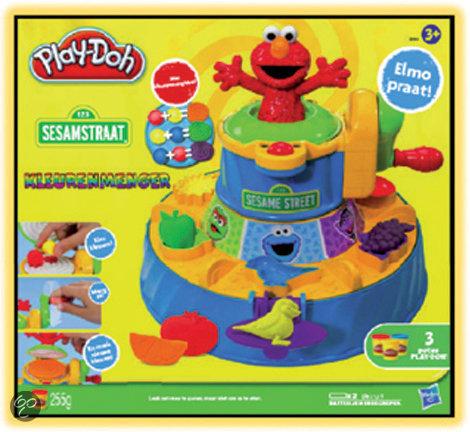 Play-Doh Elmo's Kleurmenger - Speelklei