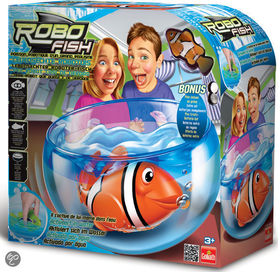 Robofish - Vissenkom Inclusief Vis