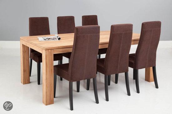 Goossens stoel aldos bruin wonen for Goossens meubelen