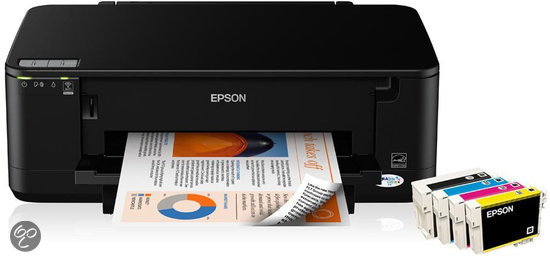 Epson Stylus Office B42WD - 27ppm / A4 / USB