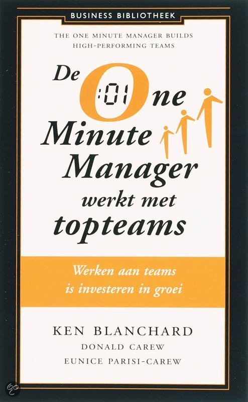 One Minute Manager werkt met topteams