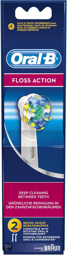 Oral-B Opzetborstel FlossAction EB25-2 - 2 Stuks