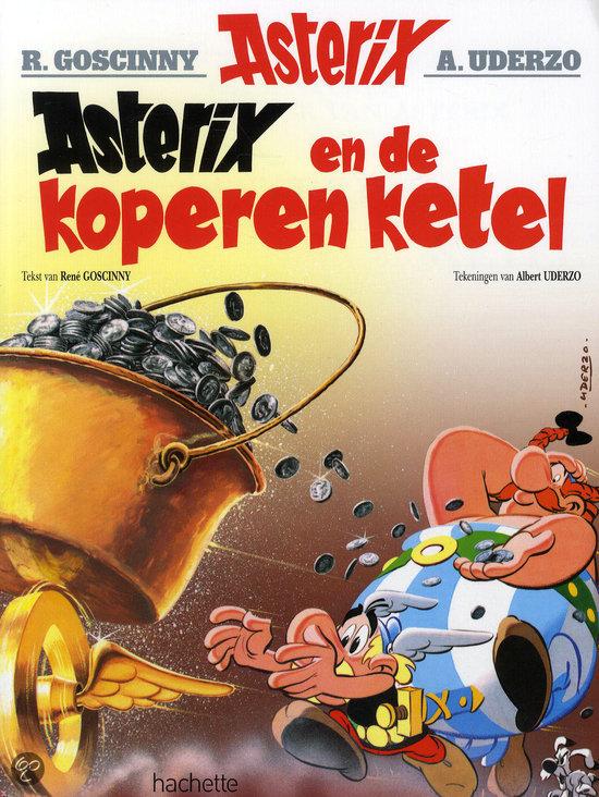 Asterix 13. De koperen ketel