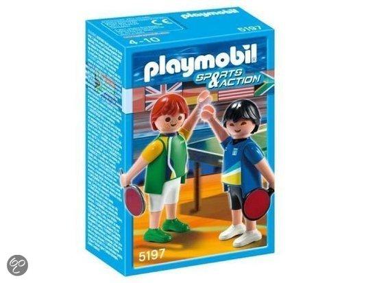 Playmobil 2 Tafeltennissers - 5197