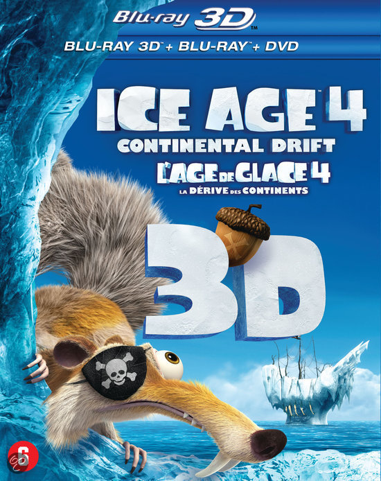Ice Age 4: Continental Drift (3D Blu-ray)