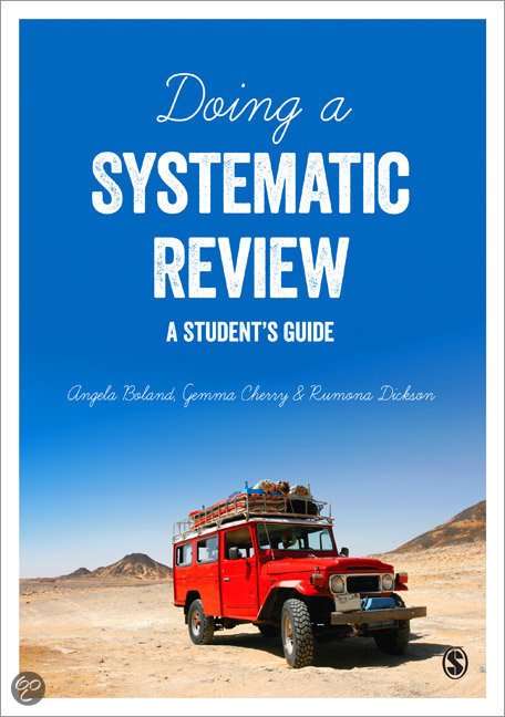 Master thesis systematic review