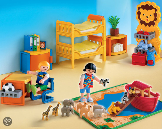 Playmobil kinderkamer 4287 playmobil speelgoed for Playmobil kinderzimmer 4287