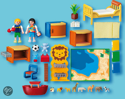Playmobil kinderkamer 4287 for Playmobil kinderzimmer 4287