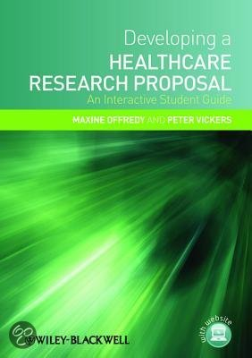 Maxine offredy developing a healthcare research proposal