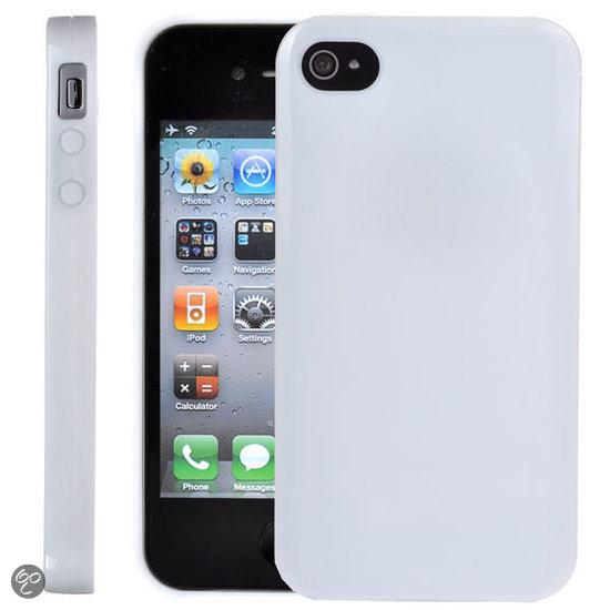 Siliconen hoesje iphone 4s