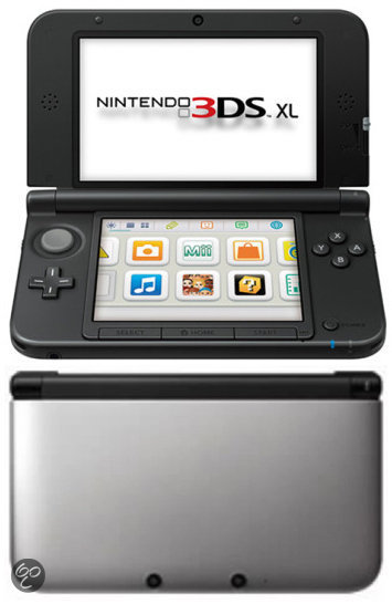 Nintendo 3DS XL Zwart + Zilver
