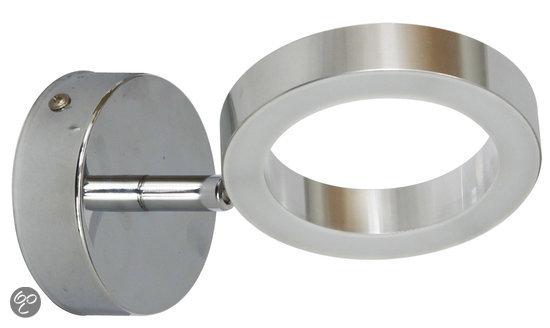 Luxe Badkamer Wastafels ~ Ranex Anzio Wandlamp Badkamer  LED  Chroom Matglas