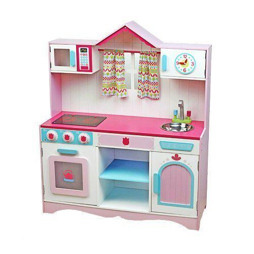 Speelgoed Keuken Maken : Imaginarium Sound Kitchen – Houten keukentje met geluid Speelgoed