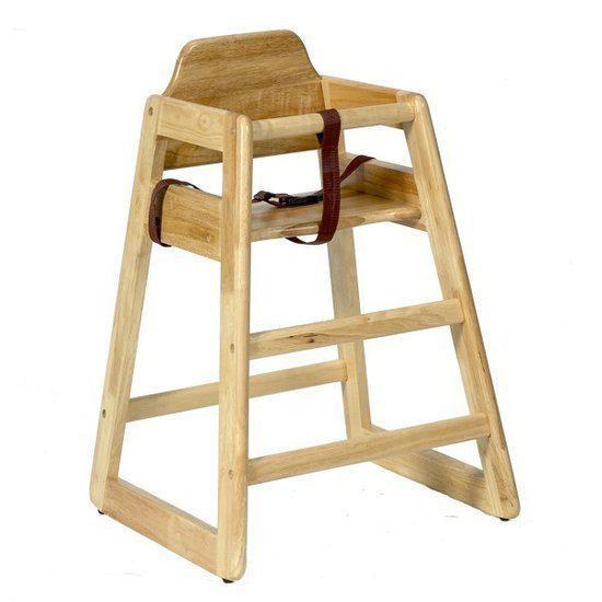 houten kinderstoel stapelbaar in natuur. Black Bedroom Furniture Sets. Home Design Ideas