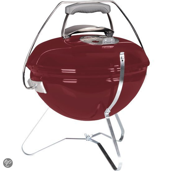 weber smokey joe premium houtskoolbarbecue 37 cm brick red koken. Black Bedroom Furniture Sets. Home Design Ideas