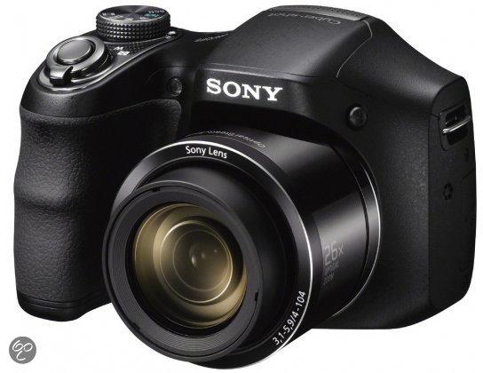 Sony Cybershot DSC-H200 - Zwart